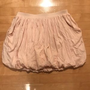 crewcuts size 14 blush pink ruffly skirt with poof